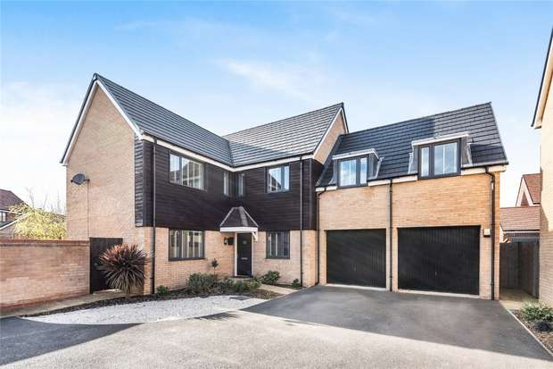 5 Bedrooms Detached House for sale in Ashpole Avenue, Wootton, Bedford