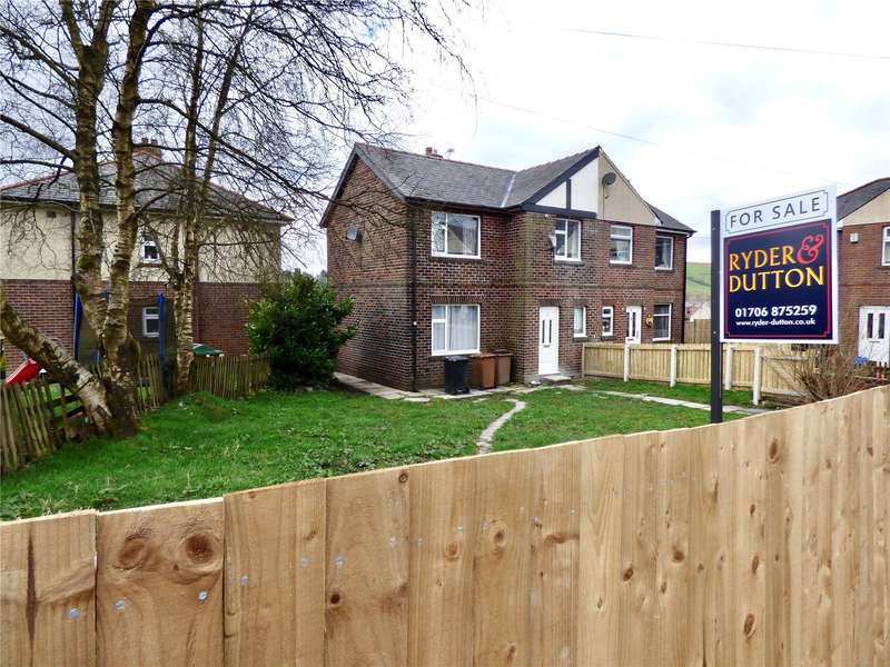 3 Bedrooms Semi Detached House for sale in Thorn Bank, Bacup, Lancashire, OL13