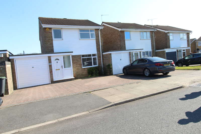 3 Bedrooms Detached House for rent in 3 bed link detached - garage - 2 bathrooms - Stopsley