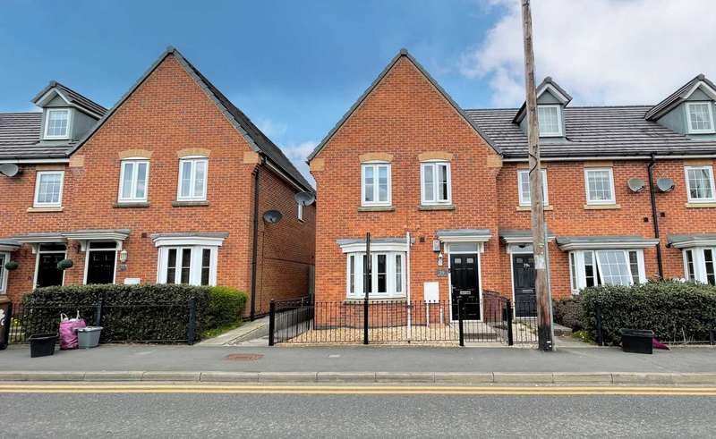 3 Bedrooms End Of Terrace House for sale in Park Road South, Newton Le Willows