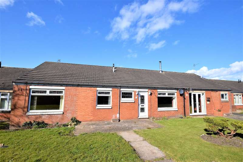 4 Bedrooms Terraced Bungalow for sale in Dormand Court, Station Town, County Durham, TS28 5HJ