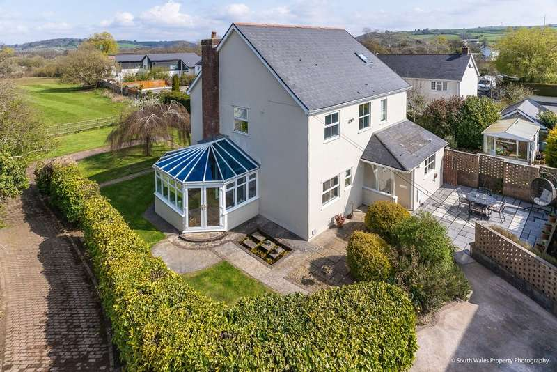 5 Bedrooms Detached House for sale in Parc Newydd, Treoes, Vale of Glamorgan, CF35 5DH