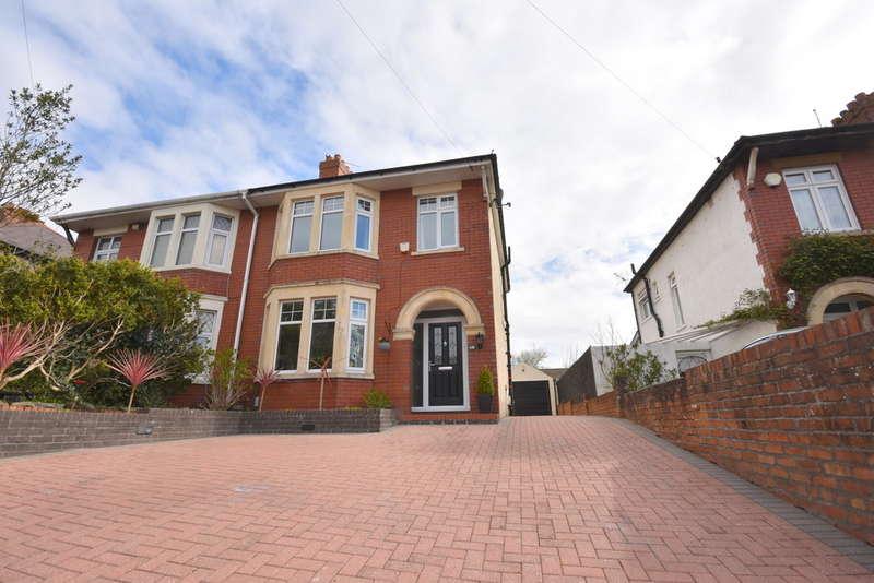 3 Bedrooms Semi Detached House for sale in 149 Redlands Road, Penarth, Vale of Glamorgan, CF64 2QP