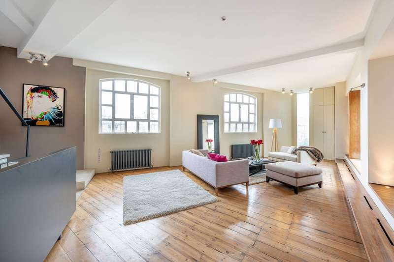 3 Bedrooms Flat for sale in Woodstock Studios, Brook Green, W12