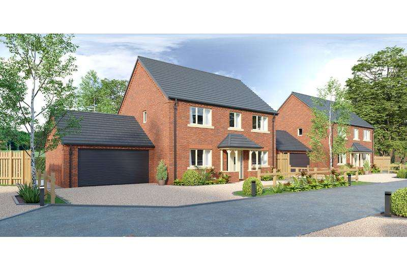 4 Bedrooms Detached House for sale in Rear of Main Road, Quadring, Nr Spalding