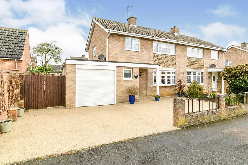 3 Bedrooms Semi Detached House for sale in The Sycamores, Kempston, Bedford, Bedfordshire, MK42