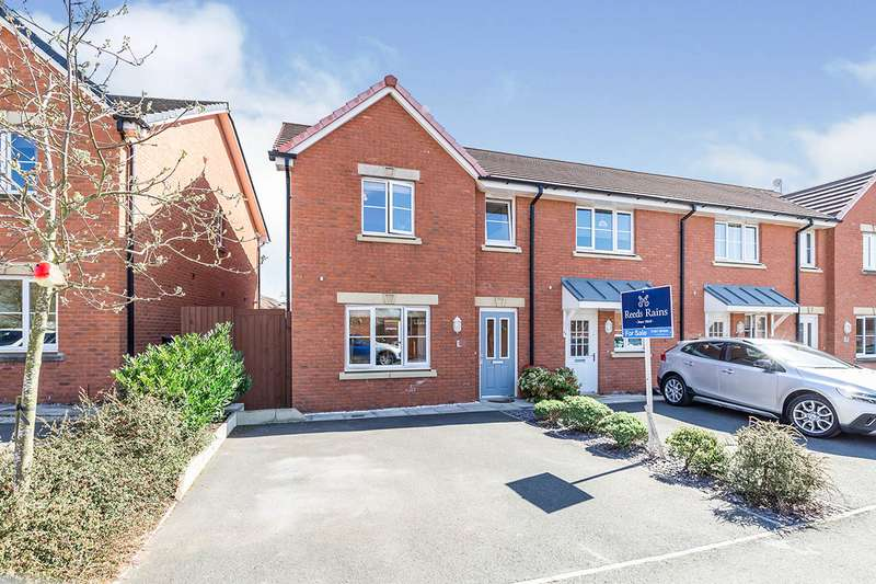 3 Bedrooms Semi Detached House for sale in Old Thorns Crescent, Buckshaw Village, Chorley, Lancashire, PR7