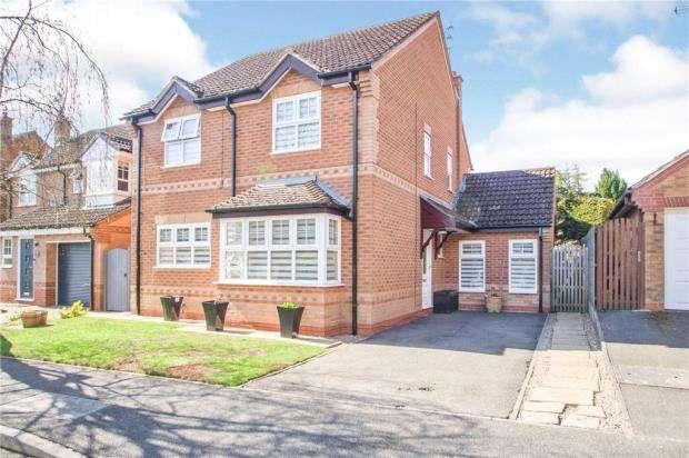 4 Bedrooms Detached House for sale in Misterton Crescent, Ravenshead, Nottingham