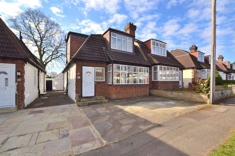 2 Bedrooms Semi Detached Bungalow for sale in Queenswood Avenue, Wallington, SM6