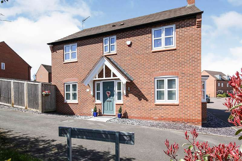 4 Bedrooms Detached House for sale in Olympic Way, Hinckley, Leicestershire, LE10
