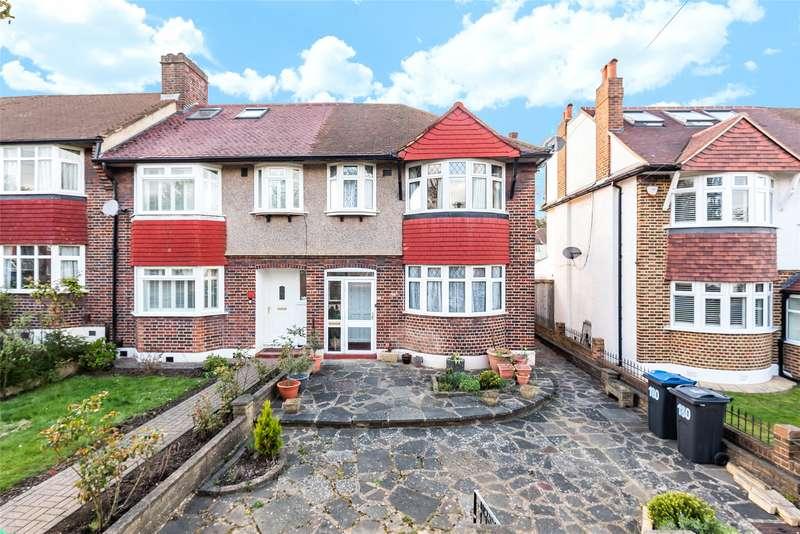 3 Bedrooms End Of Terrace House for sale in Hillcross Avenue, Morden, Surrey, SM4