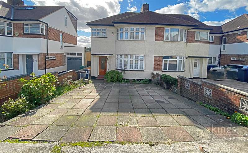 3 Bedrooms Semi Detached House for sale in Hampden Way, London