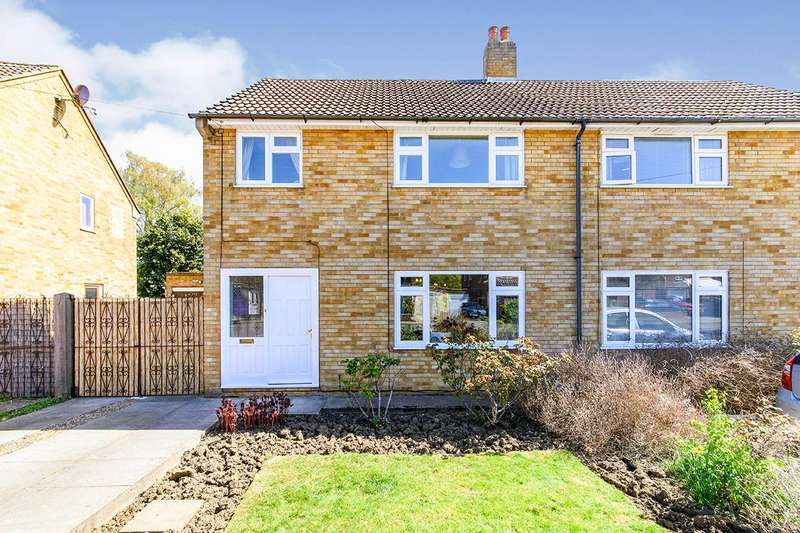 3 Bedrooms Semi Detached House for sale in Fulmar Road, Bedford, Bedfordshire, MK41