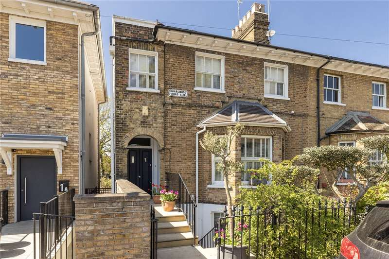 4 Bedrooms Semi Detached House for sale in Charlwood Road, Putney, London, SW15