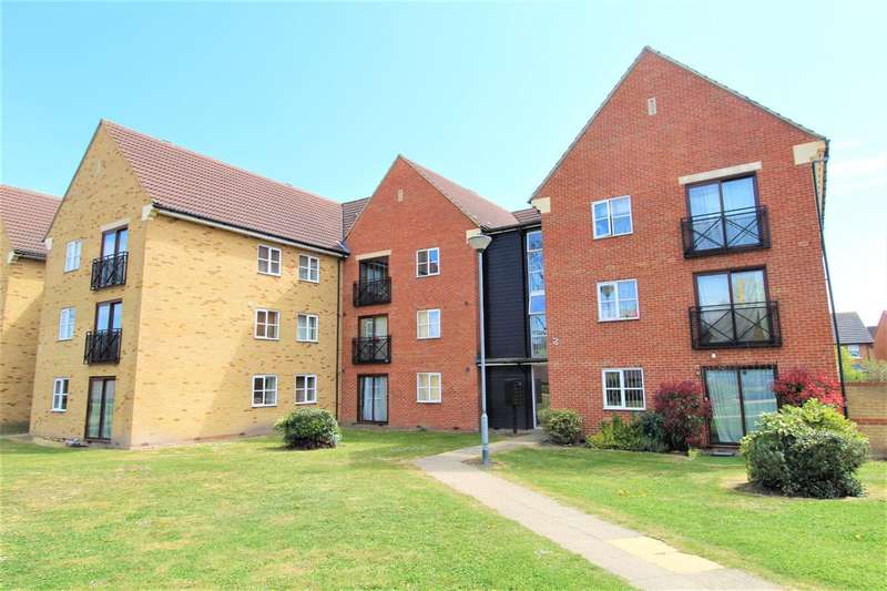2 Bedrooms Apartment Flat for sale in Flat , Nightingale Court, Fleming Road, Chafford Hundred, Grays