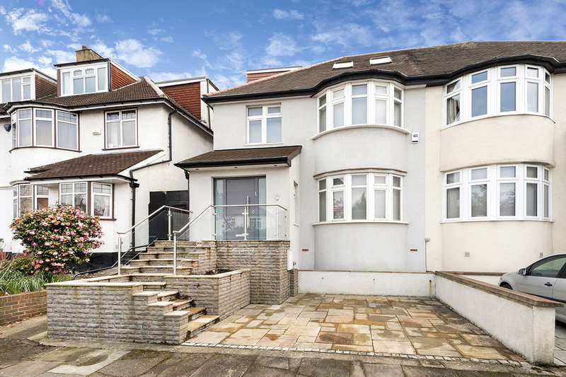 6 Bedrooms Semi Detached House for sale in Hillcrest Avenue, Temple Fortune, London, NW11