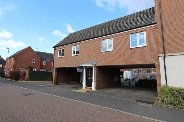 2 Bedrooms Flat for sale in Medora Close, Market Harborough, Leicestershire