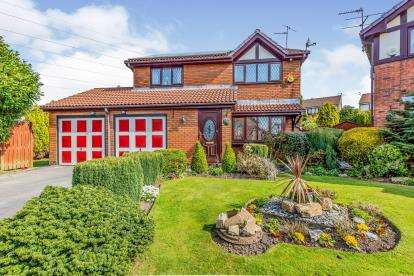 4 Bedrooms Detached House for sale in Gate Keeper Fold, Ashton-under-Lyne, Greater Manchester