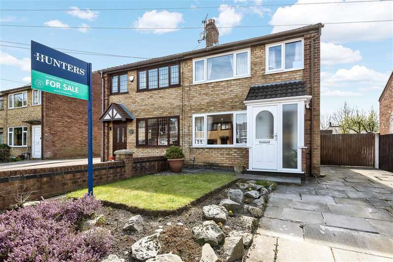 3 Bedrooms Semi Detached House for sale in Garston Close, Leigh, WN7 5NR