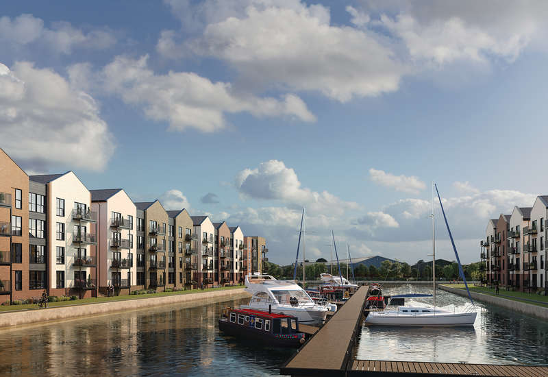 2 Bedrooms Flat for sale in The Wye - Waterfront, Hempsted, Gloucester GL2