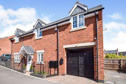 2 Bedrooms Maisonette Flat for sale in Becks Close, Birstall, Leicester, Leicestershire