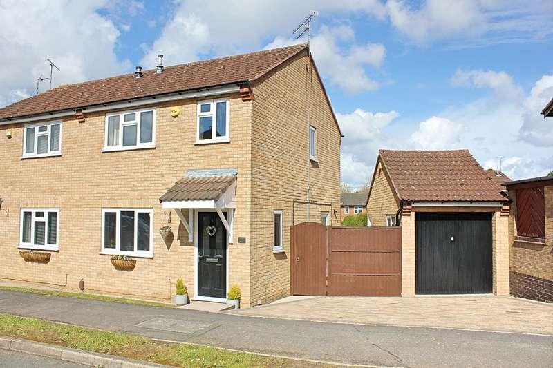 3 Bedrooms Semi Detached House for sale in Foston Gate, Wigston