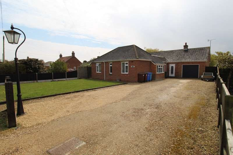 4 Bedrooms Bungalow for sale in Church Lane, Wrangle, Lincolnshire, PE22