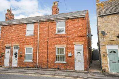 2 Bedrooms End Of Terrace House for sale in Main Road, Washingborough, Lincoln, Lincolnshire
