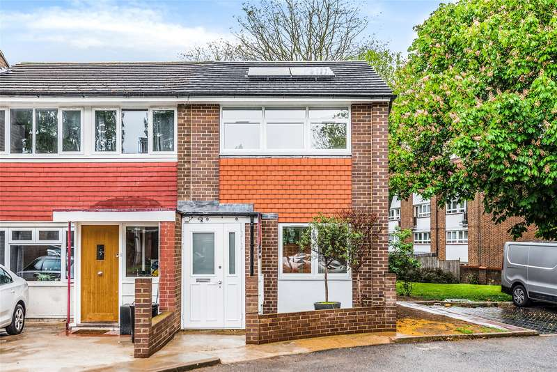 2 Bedrooms End Of Terrace House for sale in Southmead Road, London, SW19