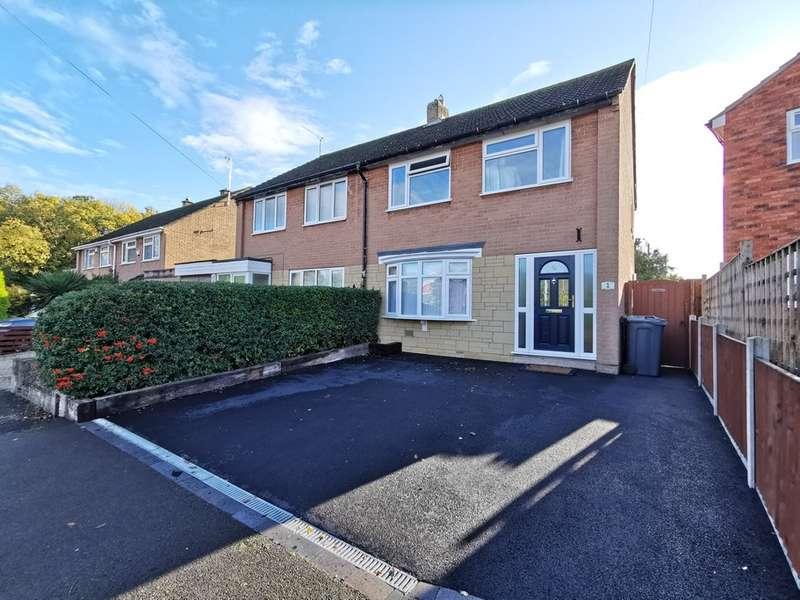 3 Bedrooms Semi Detached House for sale in Deer Park Road, Hucclecote, Gloucester, GL3