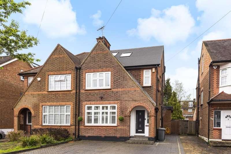 4 Bedrooms Semi Detached House for sale in Woodside Park, N12, N12