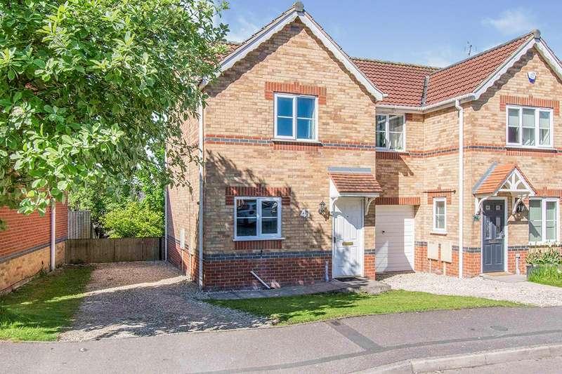 2 Bedrooms Semi Detached House for sale in Juniper Way, Gainsborough, DN21