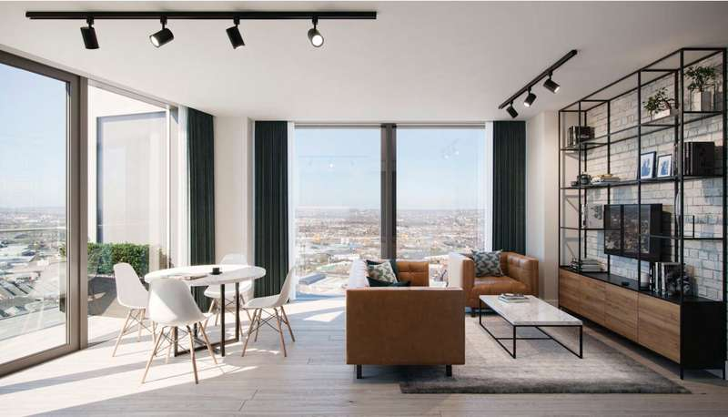 2 Bedrooms Apartment Flat for sale in One West Point, Portal Way, Acton, London, W3
