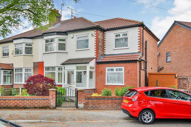 3 Bedrooms Semi Detached House for sale in Bentley Road, Manchester, Greater Manchester, M21