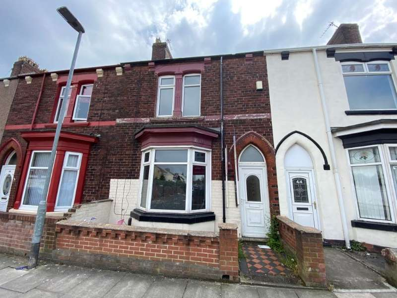 3 Bedrooms Terraced House for sale in 46 Sydenham Road, Hartlepool