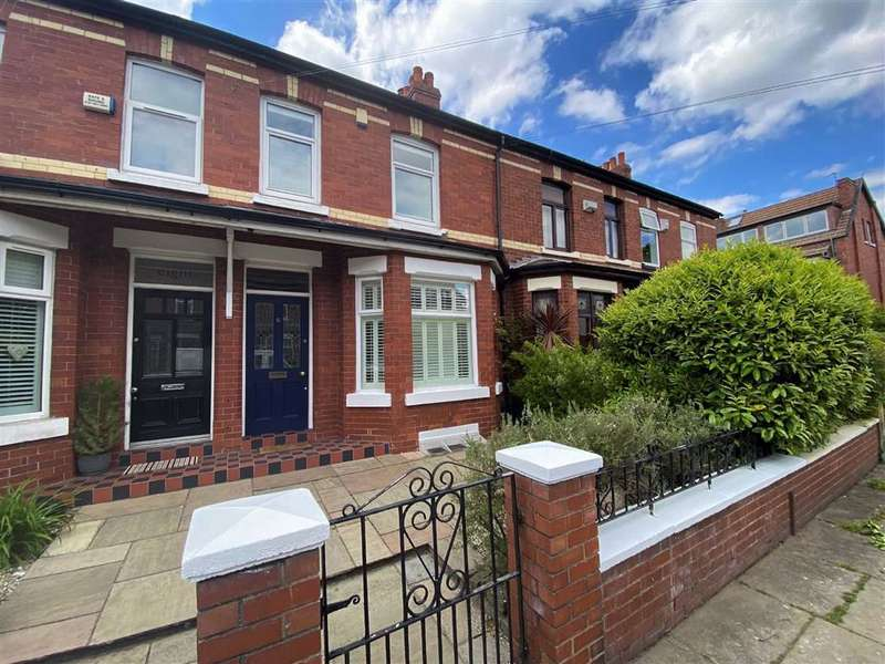 3 Bedrooms Terraced House for sale in Wilton Road, Chorlton, Manchester