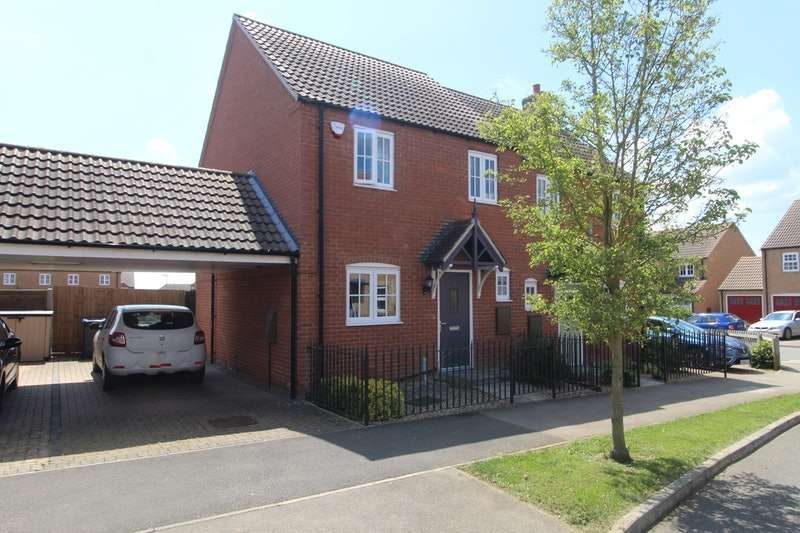 3 Bedrooms Semi Detached House for sale in Knowles Way, Lincoln, Lincolnshire, LN3