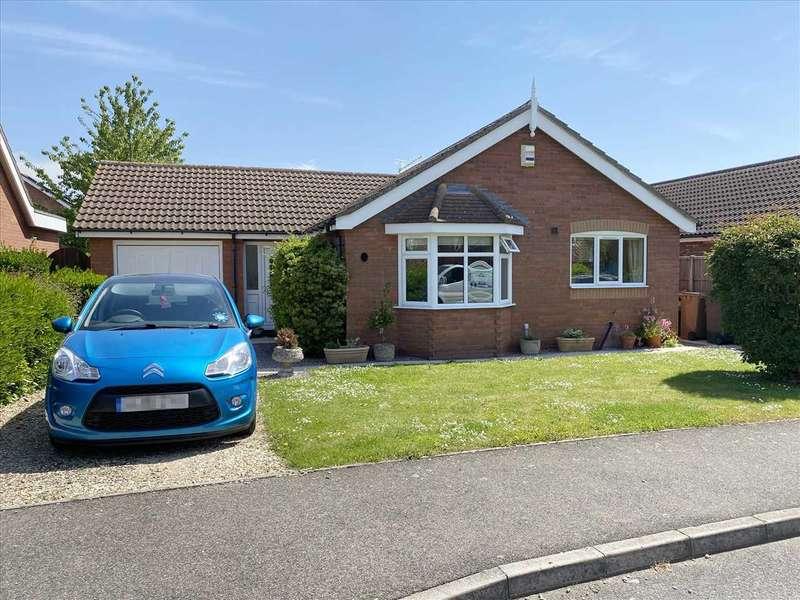 3 Bedrooms Detached Bungalow for sale in Northumbria Road, Quarrington