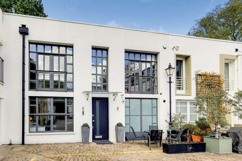 3 Bedrooms Mews House for sale in Napier Place, Holland Park, W14