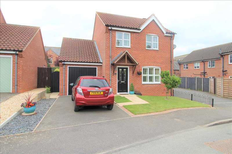 3 Bedrooms Detached House for sale in Highfield Mews, Great Gonerby, Grantham