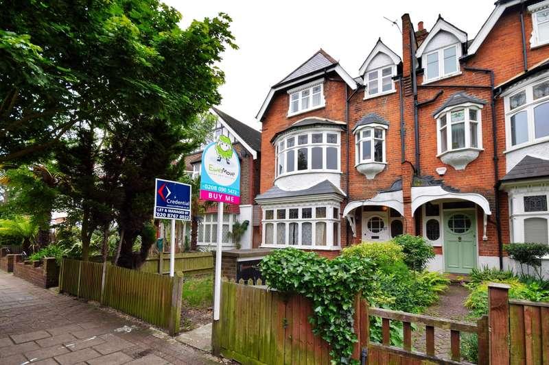 1 Bedroom Flat for sale in Thrale Road, Furzedown