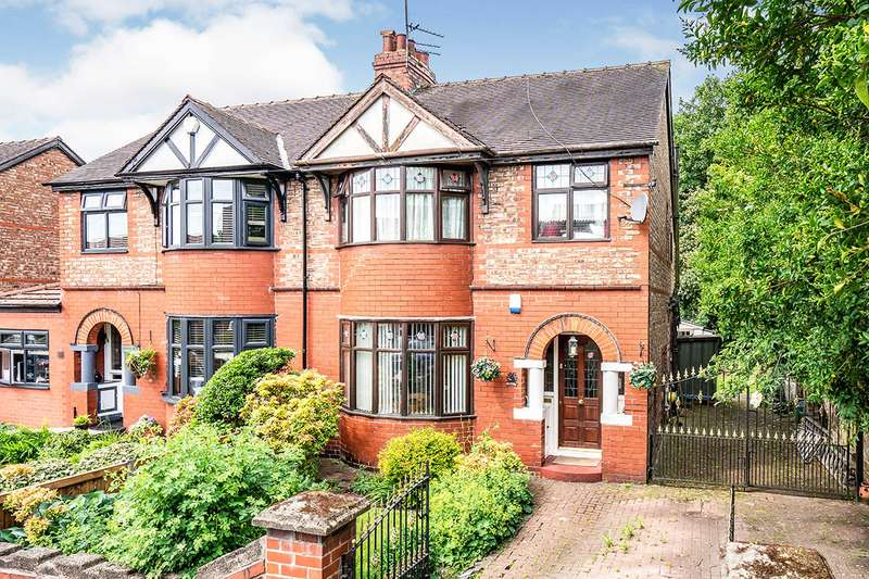 3 Bedrooms Semi Detached House for sale in Weaste Drive, Salford, Greater Manchester, M5