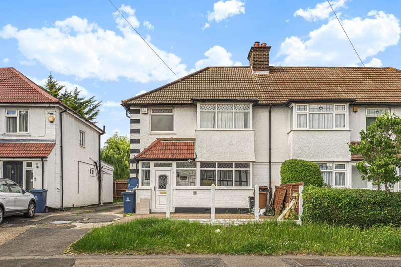 3 Bedrooms Semi Detached House for rent in College Hill Road, Harrow, HA3