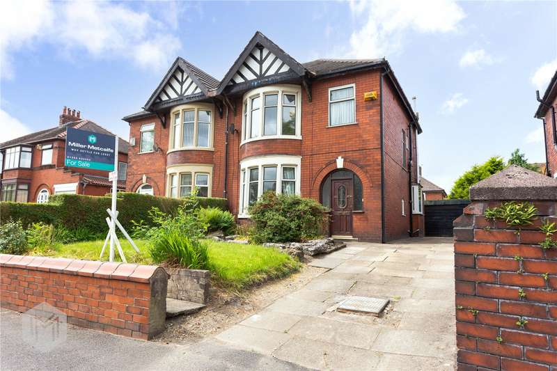 3 Bedrooms Semi Detached House for sale in Crompton Way, Bolton, Greater Manchester, BL2