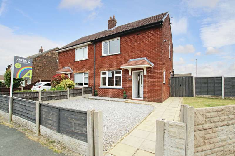 2 Bedrooms Semi Detached House for sale in Wentworth Road, Ashton-in-Makerfield, Wigan, WN4
