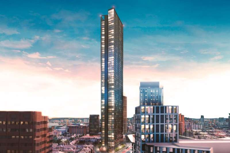 Land Commercial for sale in 100 BROAD ST, BIRMINGHAM - The 61-storey mega tower with roof-top restaurant on Birmingham's Broad S