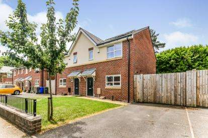 3 Bedrooms Semi Detached House for sale in Ashwater Close, Manchester, Greater Manchester