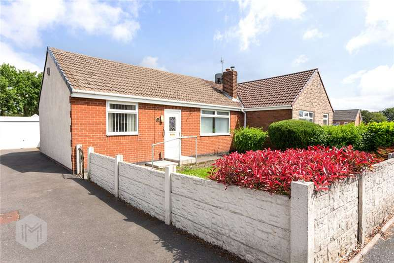 2 Bedrooms Semi Detached Bungalow for sale in Redcar Road, Little Lever, Bolton, BL3