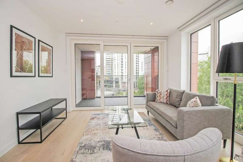 2 Bedrooms Flat for rent in Weymouth Building Elephant Park, Elephant & Castle, London, SE17 1GB