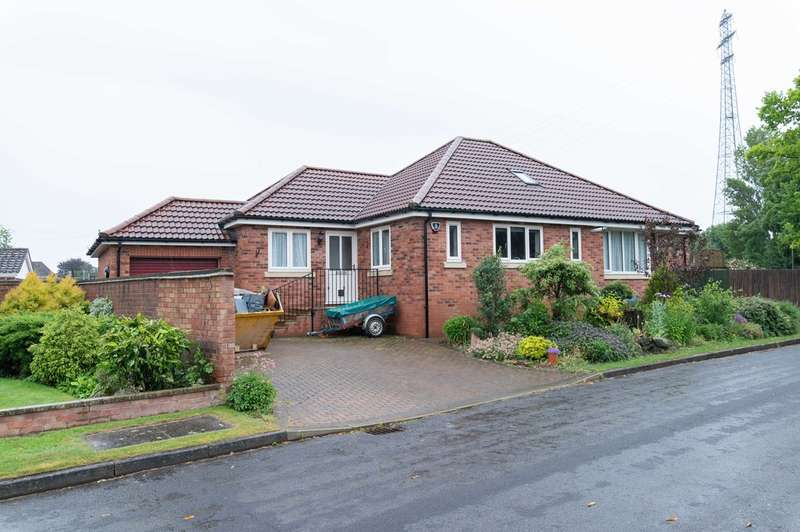 3 Bedrooms Detached Bungalow for sale in Towell Close, Boston